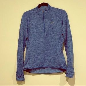 Nike long sleeve top fuzzy inside